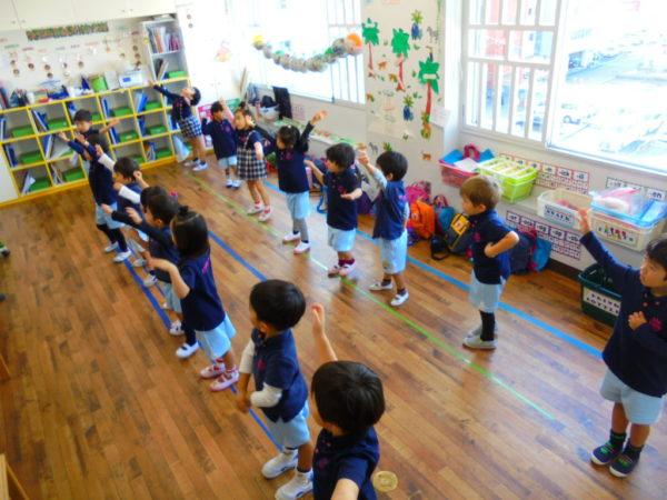 ダンスの練習の写真