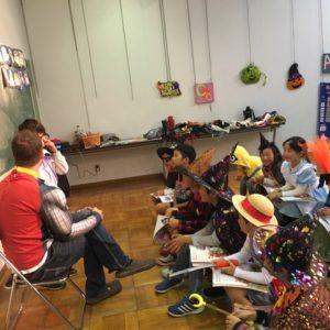 豊田地域文化広場校小学生