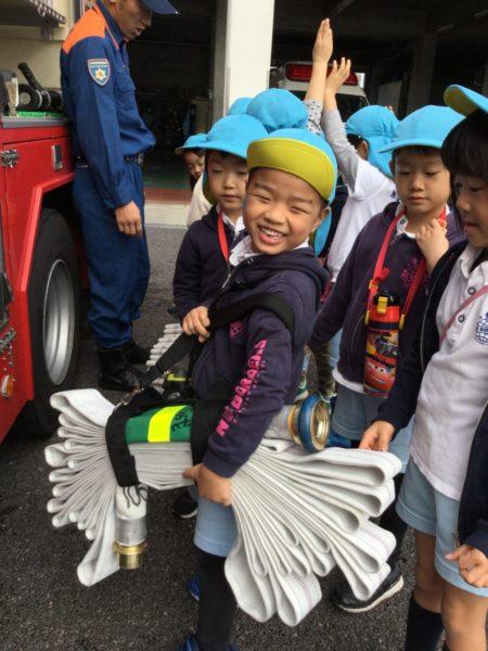 消防署見学の写真2