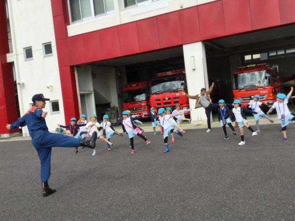 消防署見学の写真3