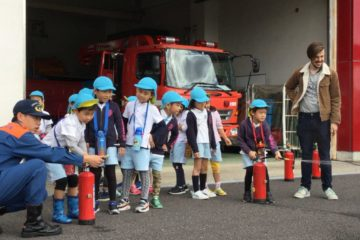 消防署見学の写真4