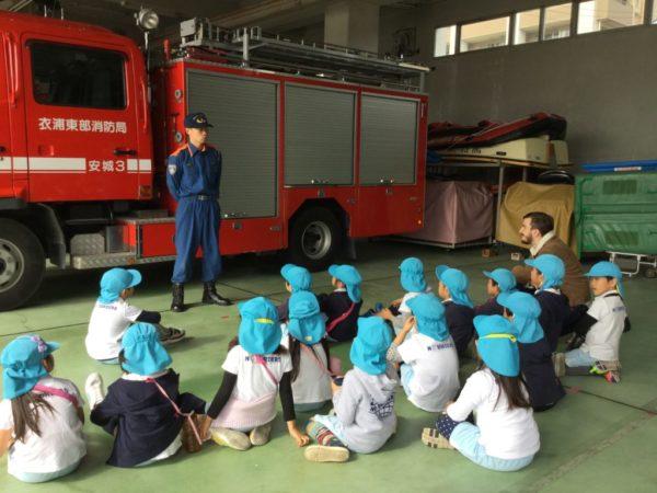 消防署見学の写真5