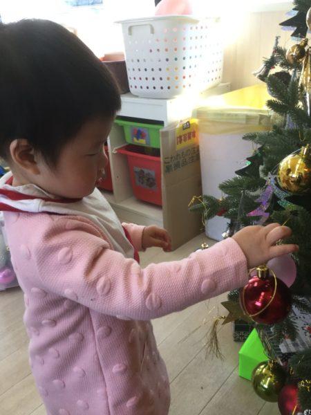 クリスマスツリーの写真1