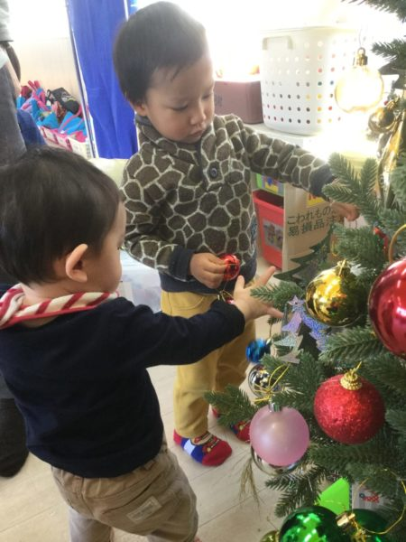 クリスマスツリーの写真2